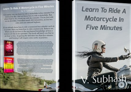 Book cover of 'Learn To Ride A Motorcycle'