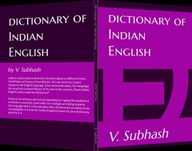 Book cover: Dictionary Of Indian English