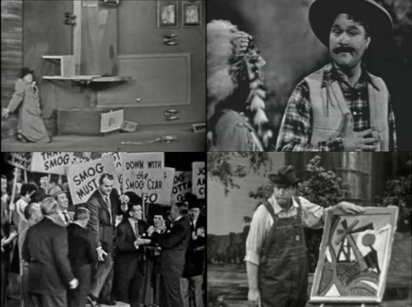 Stills from the Red Skelton show